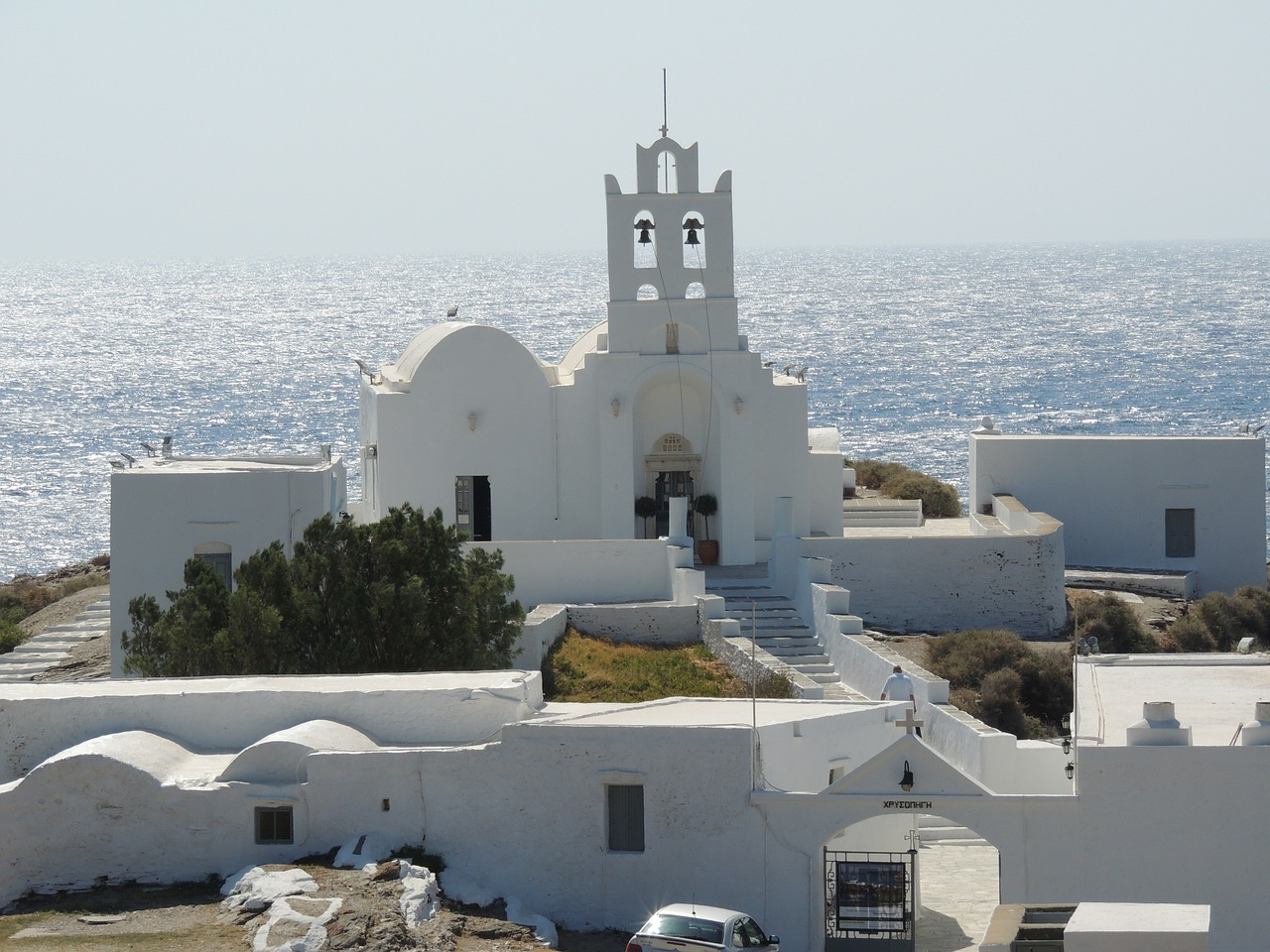 The Chrisopigi Monastery on Sifnos