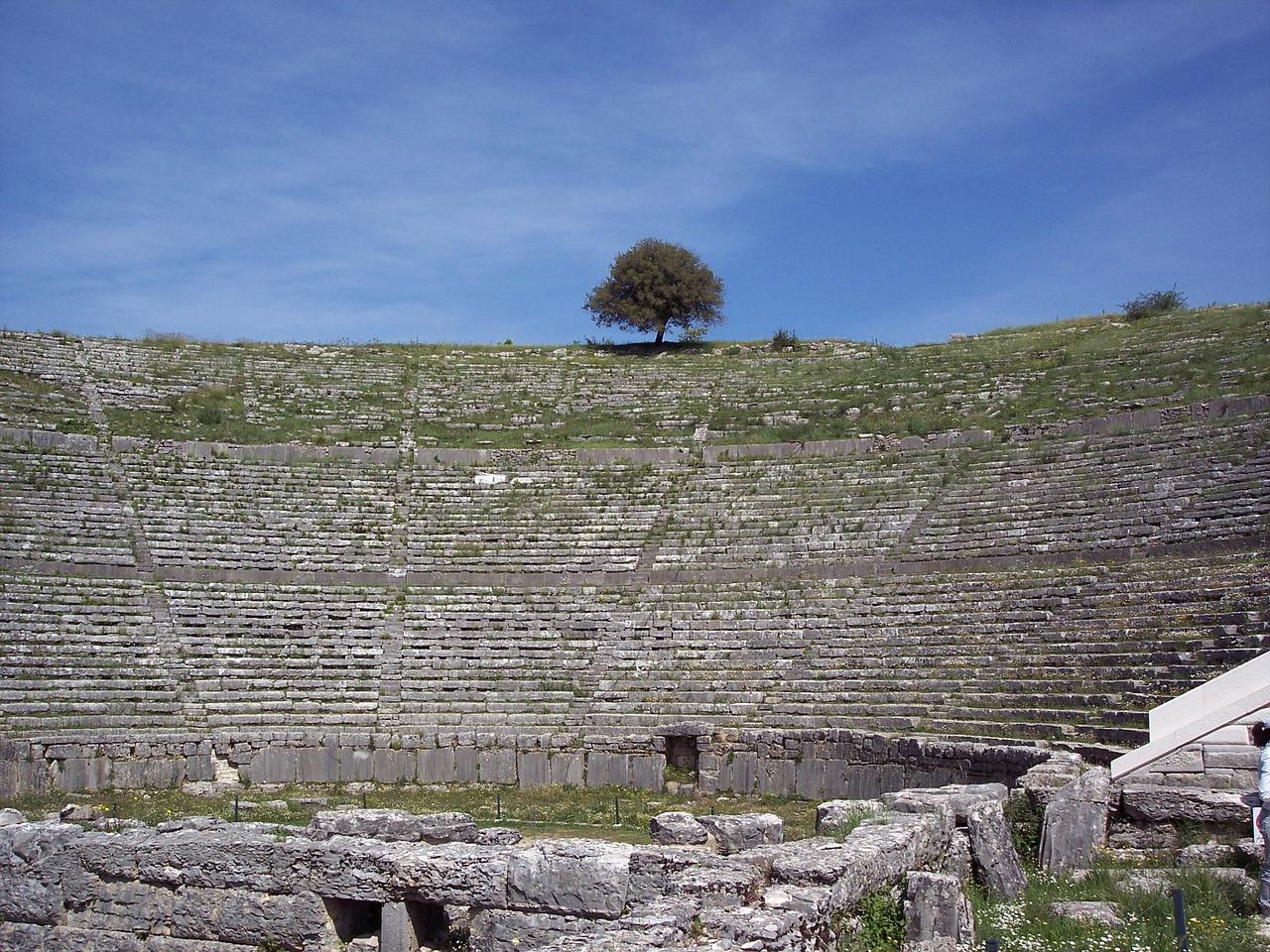 Dodoni Archaeological Site in Epirus, Greece