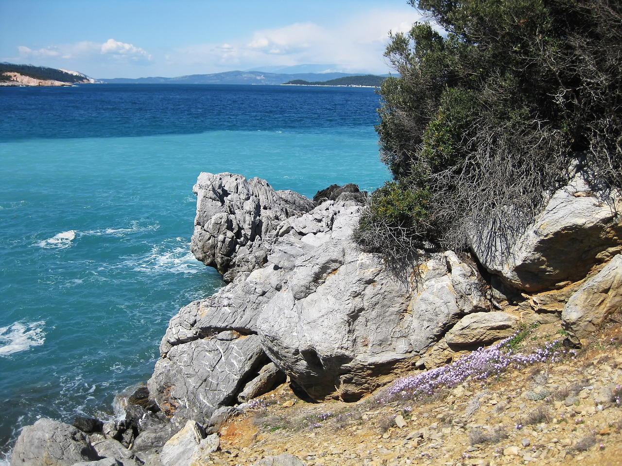 The Rocky Coast of Evia