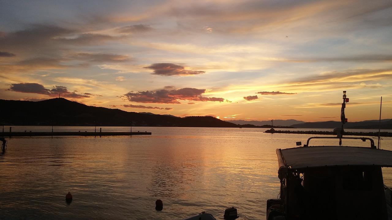 Sunset on Evia