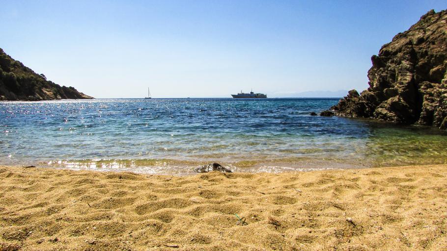 A beach on Skiathos