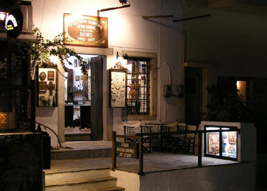 Greek Icon Shop and Studio in Elounda