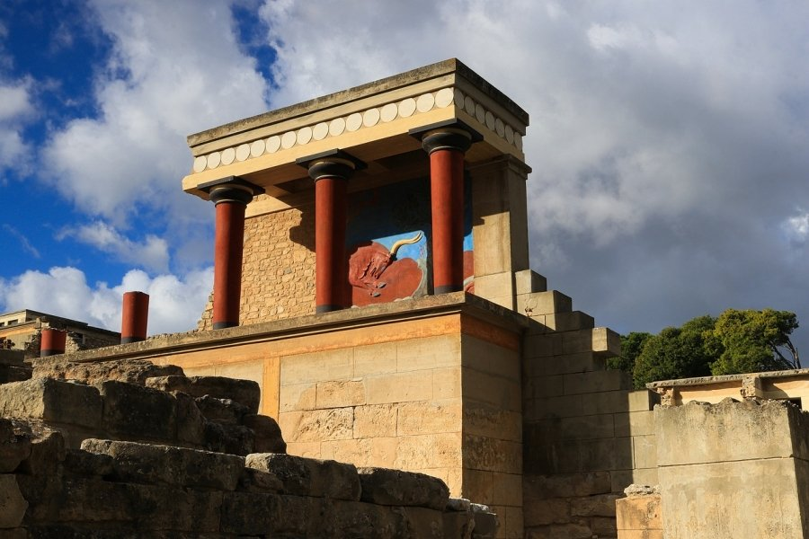 Visiting Knossos on Crete is one of the top ten things to do in Greece according to Greece Travel Secrets