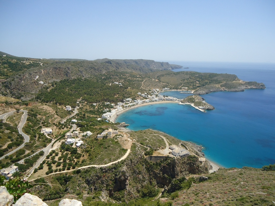 The island of Kythira in Greece