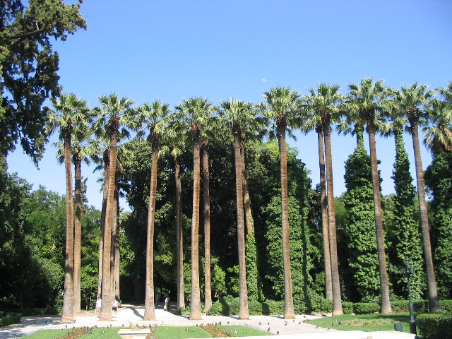 The National Garden in Athens