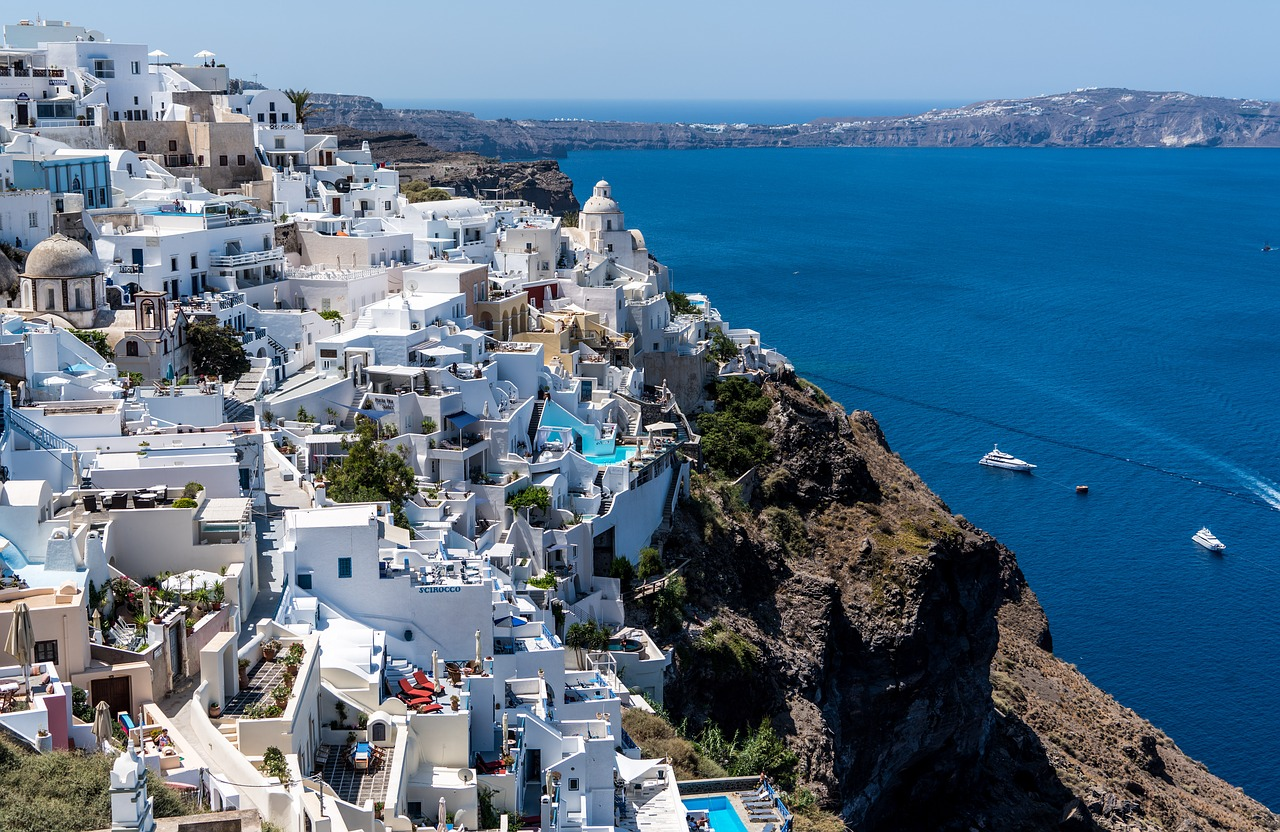Visiting Santorini is one of the top ten things to do in Greece according to Greece Travel Secrets