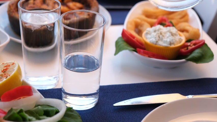 Enjoy Greek Ouzo with a Meal
