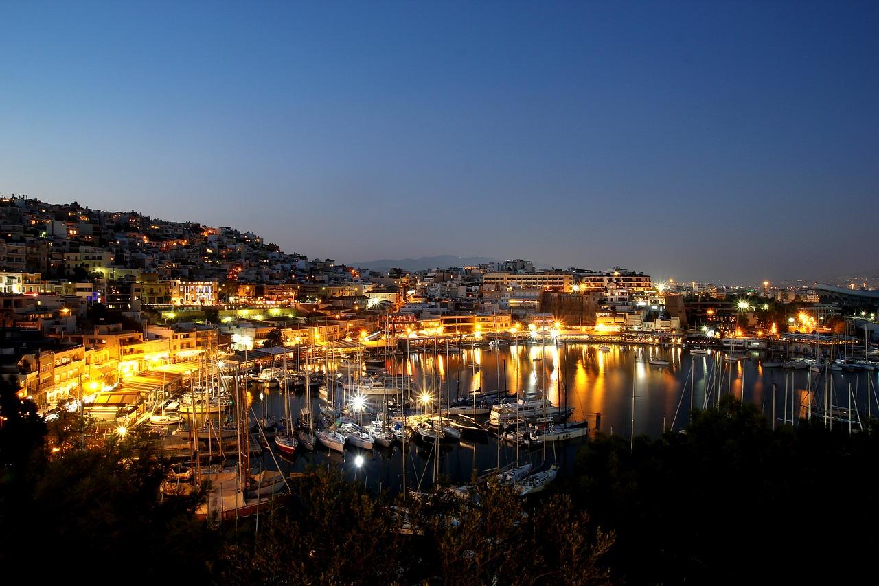 Piraeus at Night