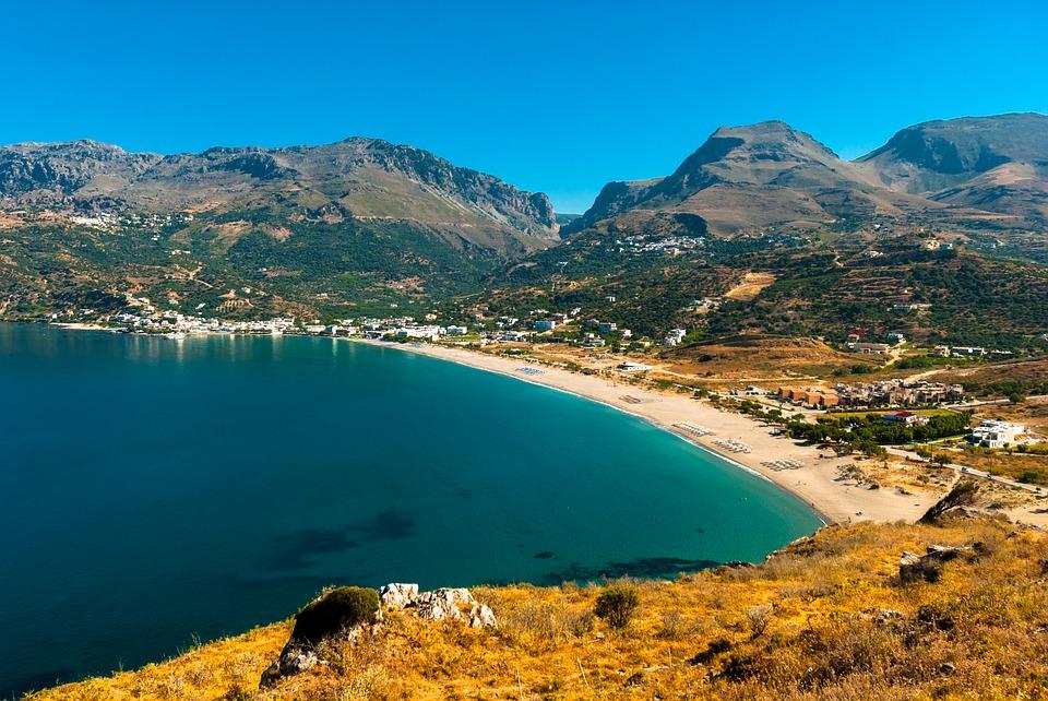 Plakias on Crete