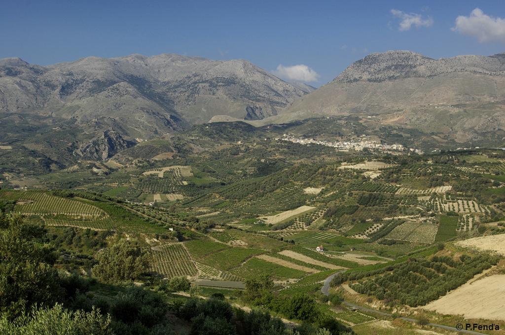 Mount Psiloritis on Crete