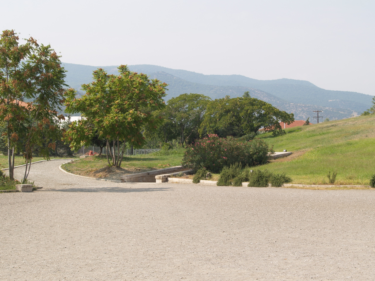 The Entrance to the Royal Tombs at Vergina