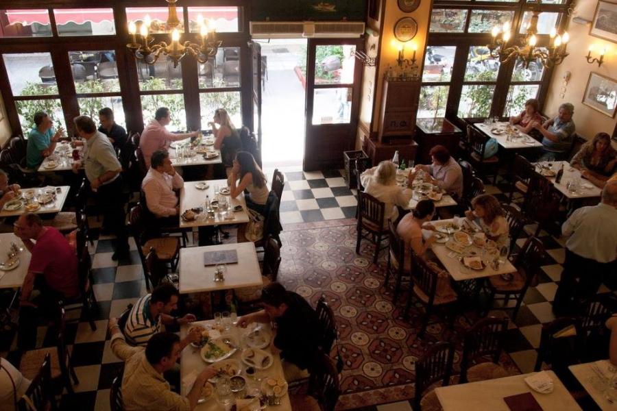 Athinaikon restaurant in Athens
