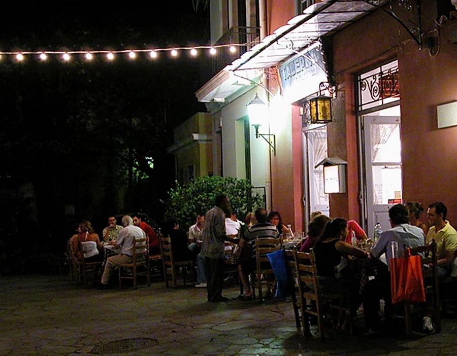 O Platanos Taverna in Athens